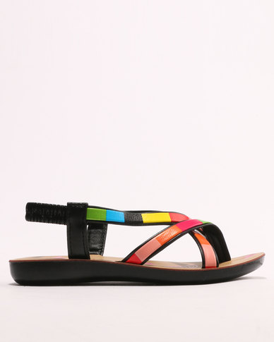 Sarah J Girls Sandals Multi