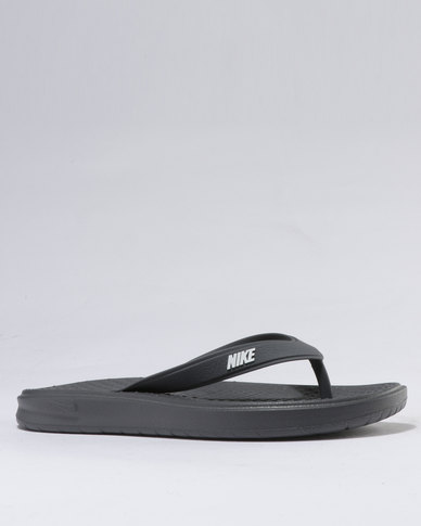 a639d778287 Nike Solay Thong Sandals Grey