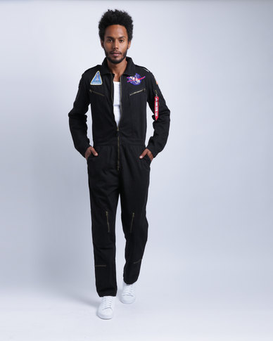 Alpha Industries Nasa Flight Suit Black