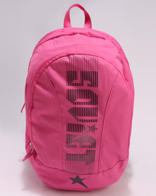 Soviet Manchester Backpack Pink Plum
