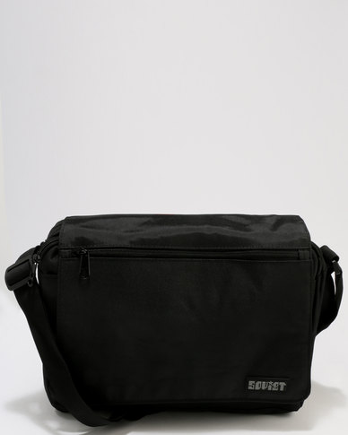 Soviet Eagles Messenger Bag Black Mono