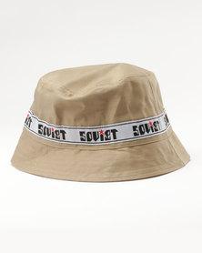 Soviet Bermuda Bucket Hat Taupe