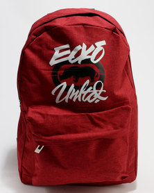 ECKÓ Unltd Front Pocket Backpacks Red