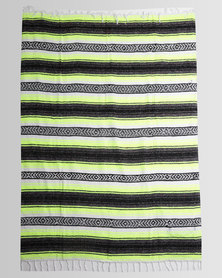 Captain Fin Sancho Blanket Green