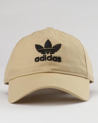 adidas Trefoil Cap Brown  9aae108dabd