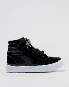 Soviet Sabrina Hi Top Sneakers Black
