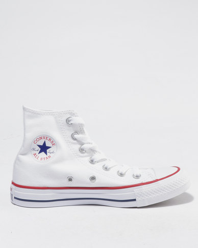 09b38e43d7e Converse Chuck Taylor All Star Hi Ladies Sneakers White | Zando