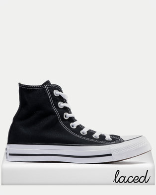 Converse Chuck Taylor All Star Hi Ladies Sneakers Black 8c0daf27447