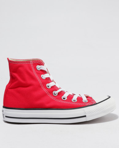 2c7dad2440a86c Converse Chuck Taylor All Star Hi Ladies Sneakers Red