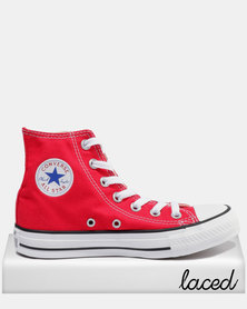Converse Chuck Taylor All Star Hi Ladies Sneakers Red