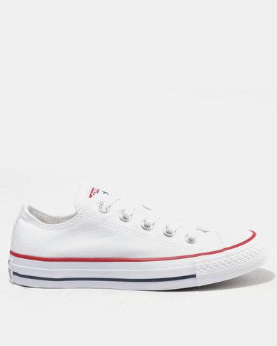 6ecc9888e77 Converse Chuck Taylor All Star Lo Ladies Sneakers White