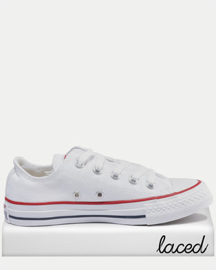 Converse Chuck Taylor All Star Lo Ladies Sneakers White 3b309e684e265