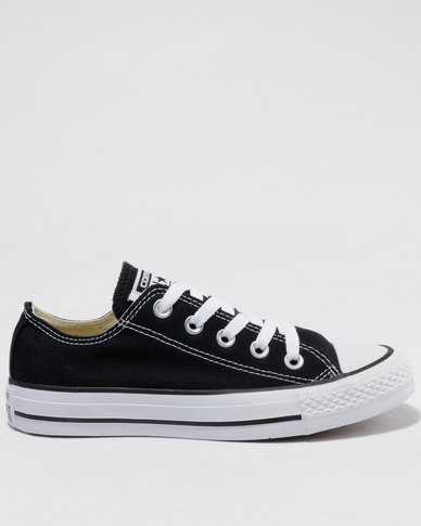 new concept 42b56 4ca96 Converse Chuck Taylor All Star Lo Ladies Sneakers Black