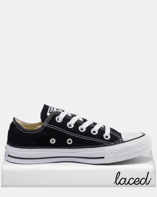 13c807f22c7a Converse Chuck Taylor All Star Lo Ladies Sneakers Black