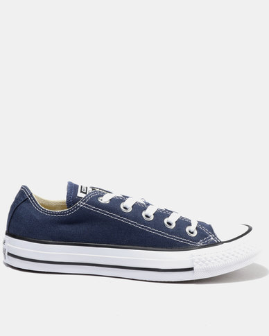 73b4f71ea5d5 Converse Chuck Taylor All Star Lo Ladies Sneakers Navy