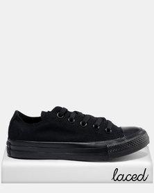 Converse Chuck Taylor All Star Specialty Lo Ladies Sneaker Black