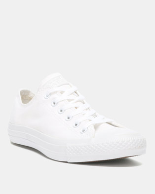 201859fee2e7 Converse Chuck Taylor CTAS Mono OX SMU Ladies Sneakers White