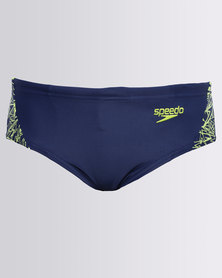Speedo Boom Splice Briefs Blue
