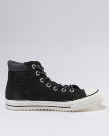 Converse Chuck Taylor All Star Boot PC Material Mix Hi Top Almost Black