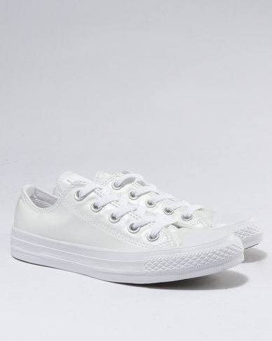Converse Chuck Taylor All Stars Seasonal Metallics Ox White