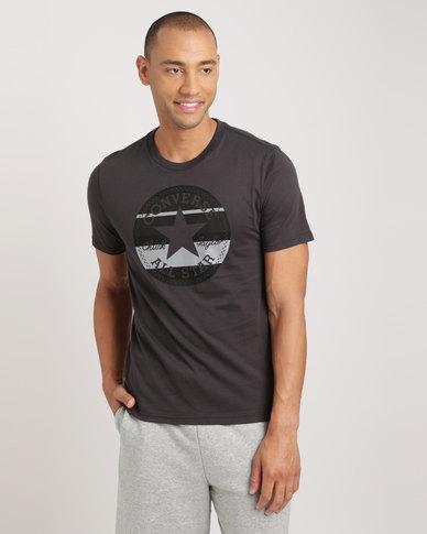 243df5354ba7bb Converse Mens Stripe Fill T-shirt Phantom