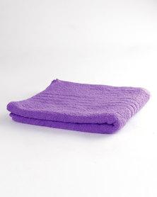 Colibri Towelling Universal Hand Towel Purple