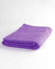 Colibri Towelling Universal Bath Towel Purple
