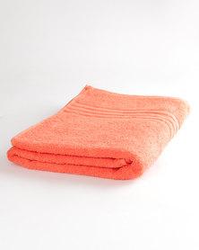 Colibri Towelling Universal Bath Towel Orange