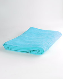 Colibri Towelling Universal Bath Sheet Blue