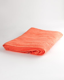 Colibri Towelling Universal Bath Sheet Orange