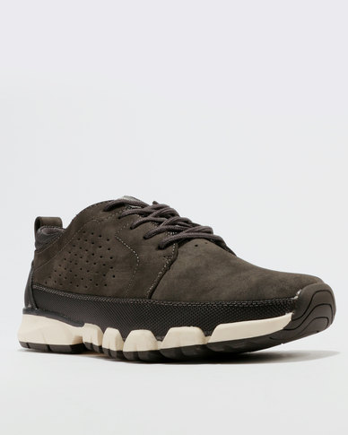 Paul of London Casual Lace Up Low Cut Sneakers Grey