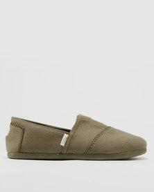 Paez Original Color Block Casual Shoes Khaki