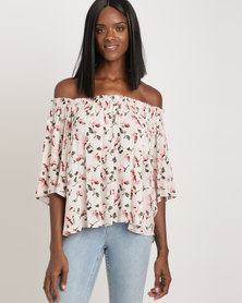 Holly Blue Swing Top Pink Floral
