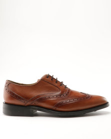 Crocket & Jones Formal Lace Up Shoe Tan