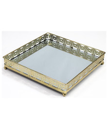 Venetian Square Mirror Tray