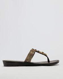 Grendha Grendha Ladies Casual Sandals Black Multi cheap 2014 2hH0ABym