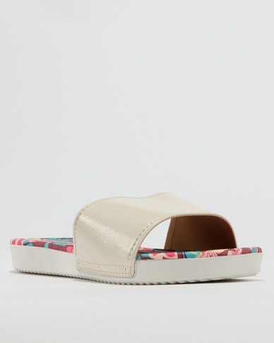Grendha Ladies Casual Slides Nude