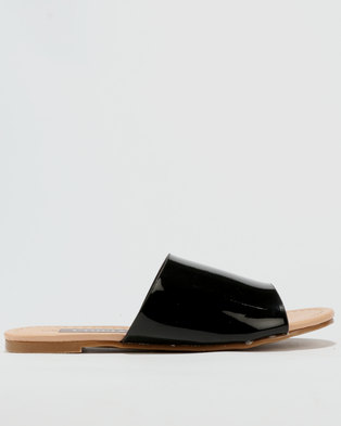 Utopia Mule Slide Black