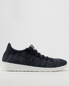 Soviet Willow Casual Low Cut Lace Up Sneakers Navy