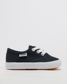Tomy Takkies Infants Basic Lace Up Navy