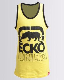 ECKÓ Unltd Boys Vest Yellow