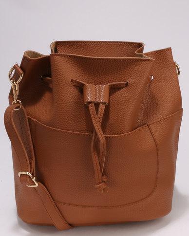 8c98c62d75ea Utopia Drawstring Handbag Brown