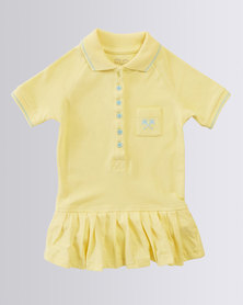 Parental Instinct Stain Resistant Emily Dress Lemon Drop