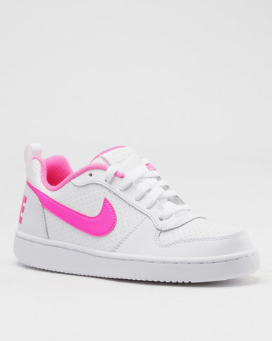 sports shoes a4486 58923 Nike Court Borough Low (GS) White  Zando