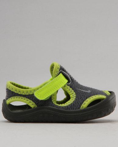 30338c0555a3 Nike Sunray Protect Sandals Dark Grey