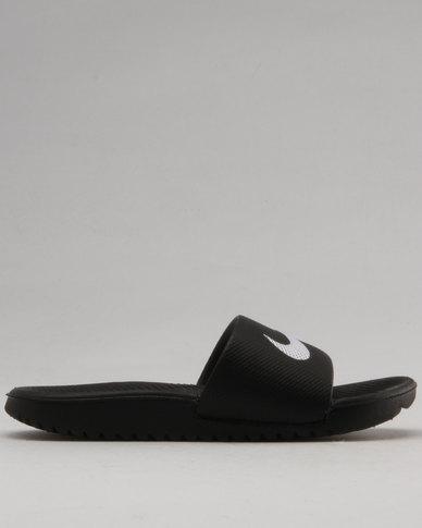 Nike Kawa Slides Black