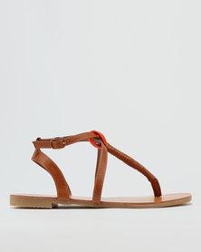ZOOM Yael Sandals Tan