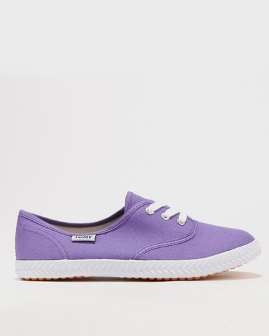 best place to buy Tomy Takkies Tomy Takkies Original Lace Up Purple buy cheap for sale 100% original online discount cheap GHh7b