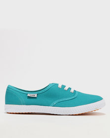 Tomy Takkies Original Lace Up Teal