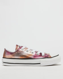 Converse Metallic LO Sneaker Dusk Pink